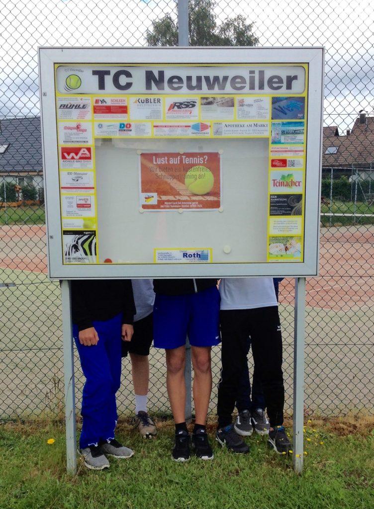 Junioren Kreisstaffel Neubulach/ TC Neuweiler – Mönsheim 2:4