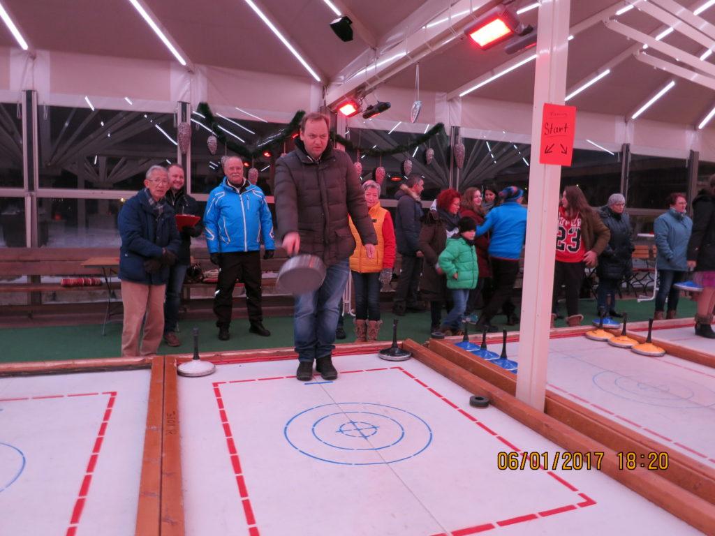 Der TC Mönsheim geht wieder auf`s Eis.