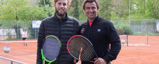 links Gonzalo Bancalari, rechts Erick Silva