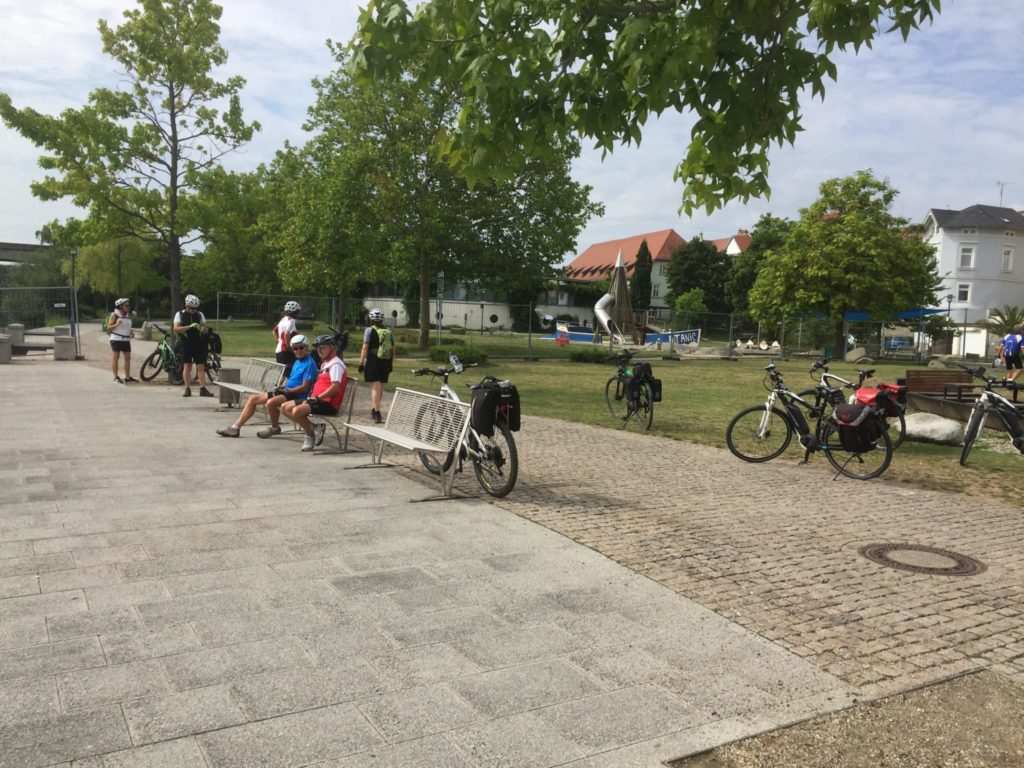 TCM E-Bike-Gruppe auf Tour