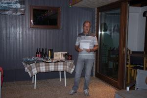 Bericht der Tennisaction vorgetragen durch Gerd Schnoor